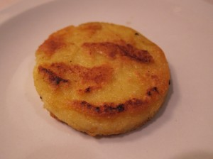 Crispy Polenta Cake